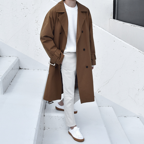 Awesome Trench Coat (3color)
