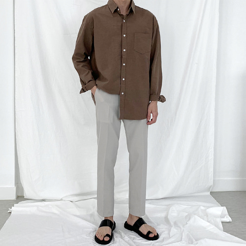 Flex Linen Shirts (6color)
