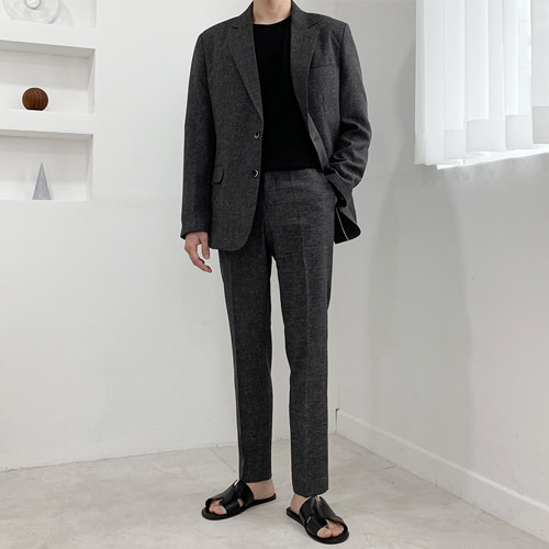 Most Summer Suit (Charcoal) 안감추가
