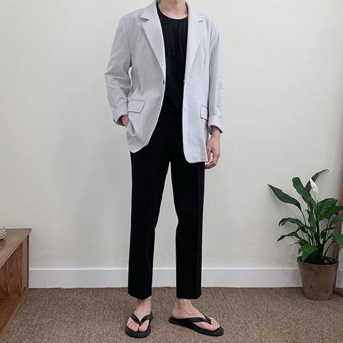 Ruby Linen Jacket (2color)