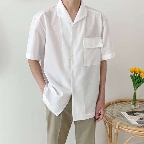 Maple Linen Shirts (3color)