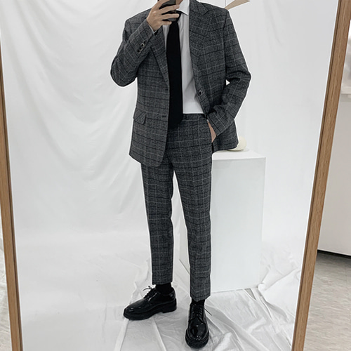 Glen Check Suit (Single)
