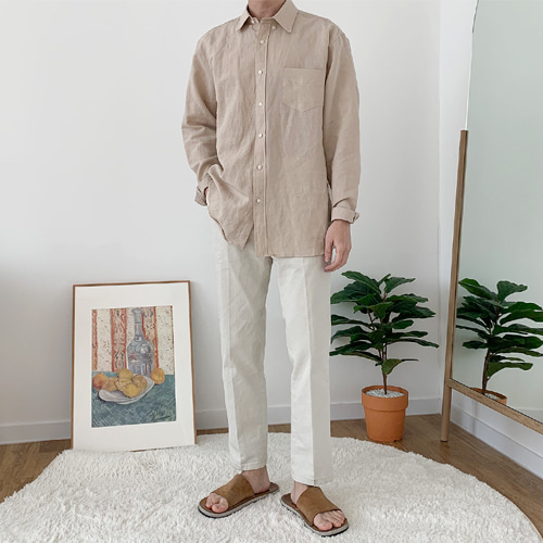 Wily Linen Shirts (9color)