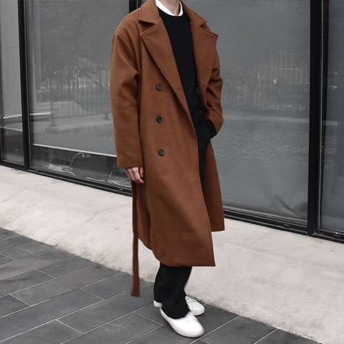 Wool Trench Coat (3color)