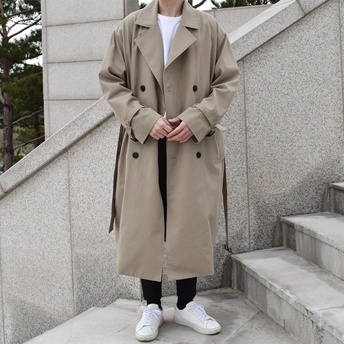 Rayble Trench Coat (3color)