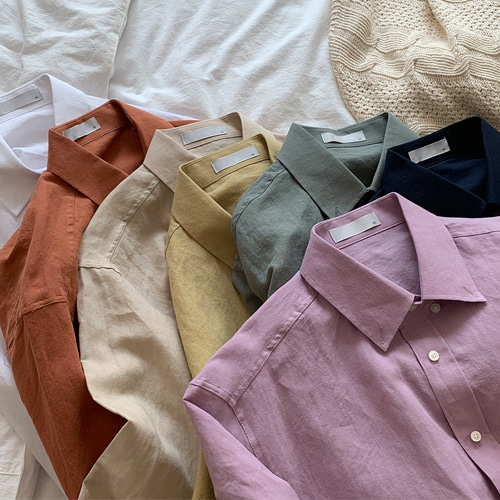 Wily Linen Shirts (7color)