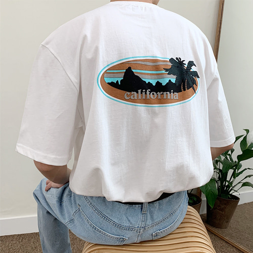 Back California T-Shirt (3color)