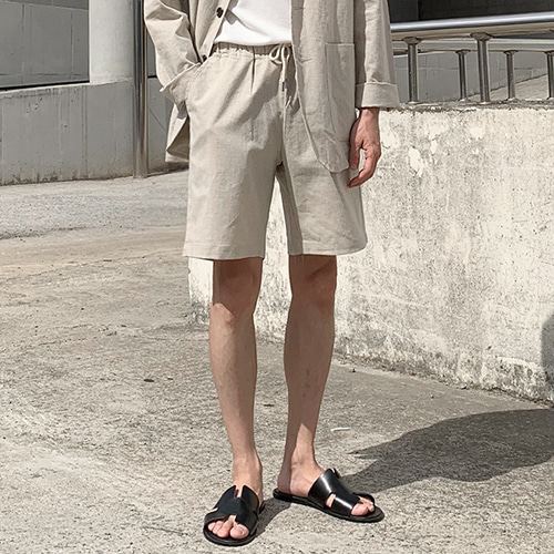Factor Linen Shorts (3color)