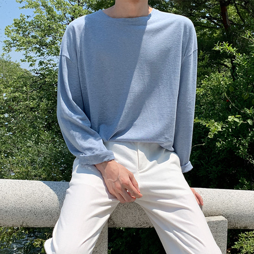 Season Linen T-Shirt (4color)