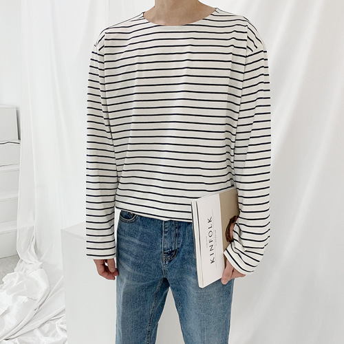 Boat Stripe T-Shirt (3color)