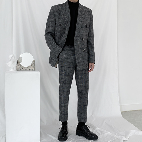 Glen Check Suit (Double)