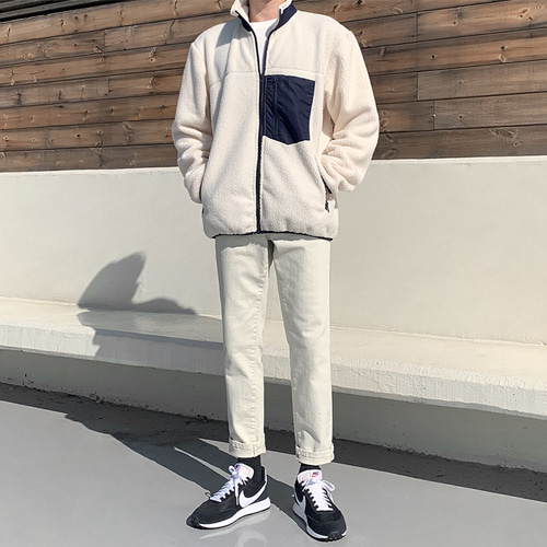 Sunday Fleece Jacket (3color)