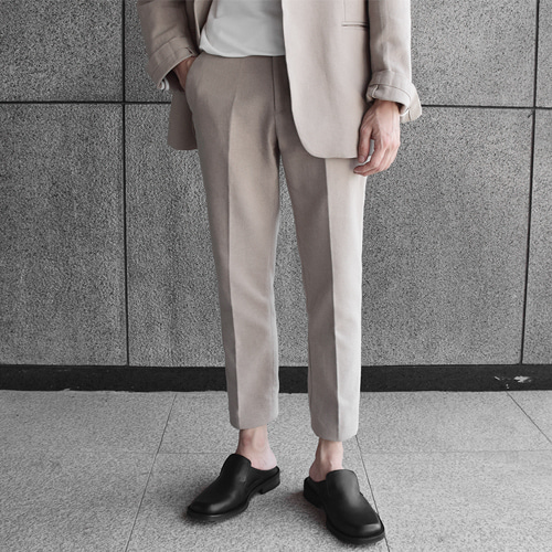 Modern Linen Slacks (3color)