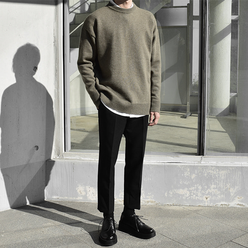 Blanc Knit (5color)