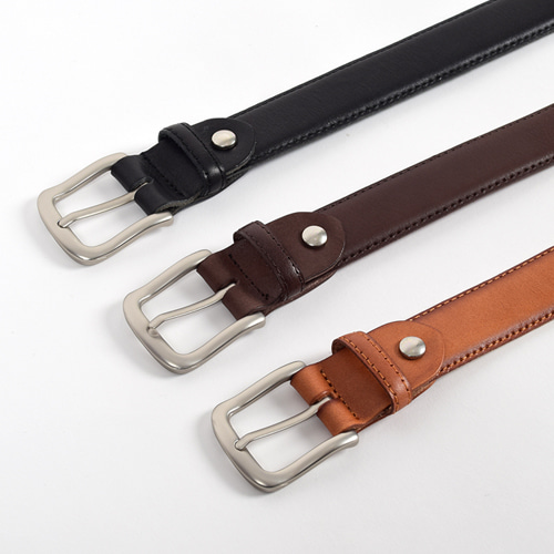 Paul Leather Belt (3color)