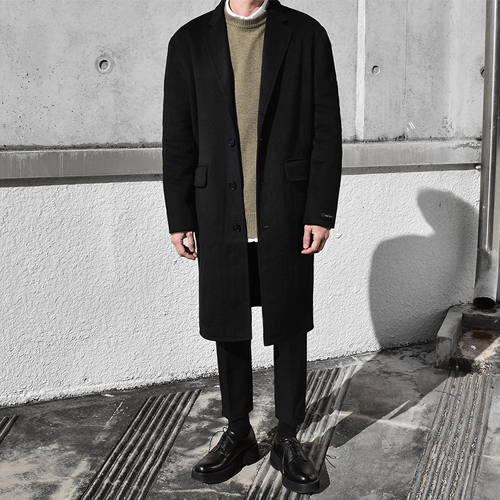 Mood Handmade Coat (Black)