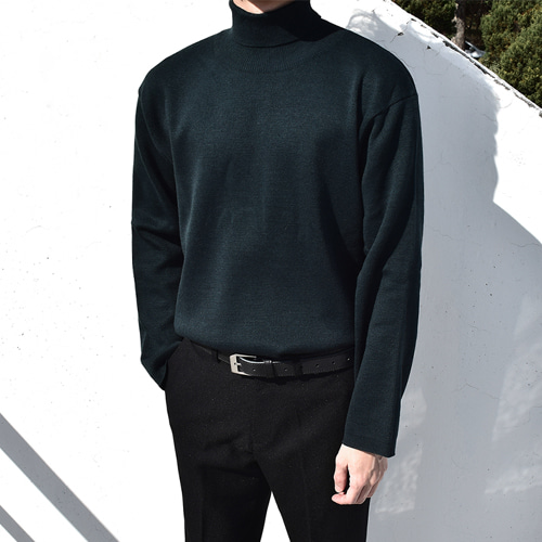 Apollo Neck Knit (6color)