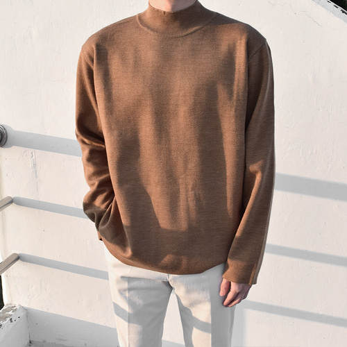Apollo Halfneck Knit (6color)
