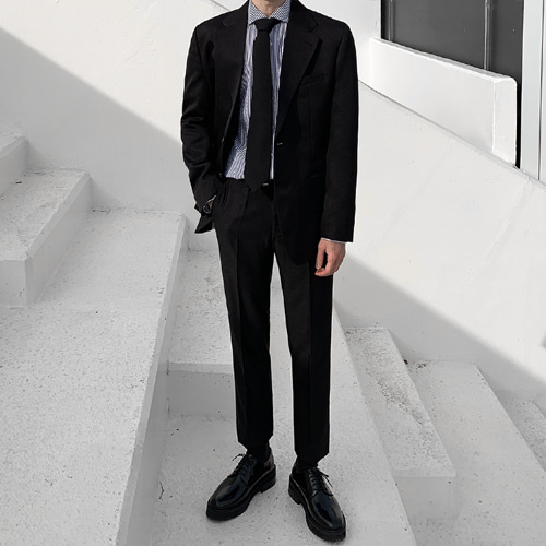 Saint Suit (Black)