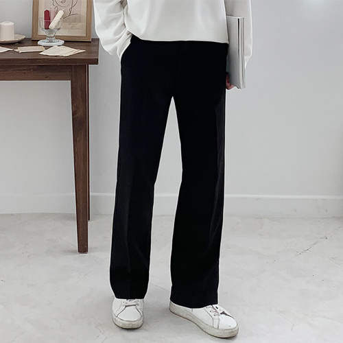 Slim Wide Slacks (4color)