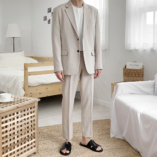 Most Summer Suit (Beige) 안감추가