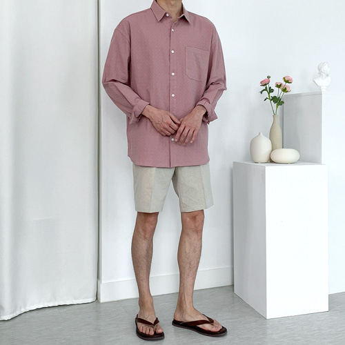 Mild Linen Shirts (5color)
