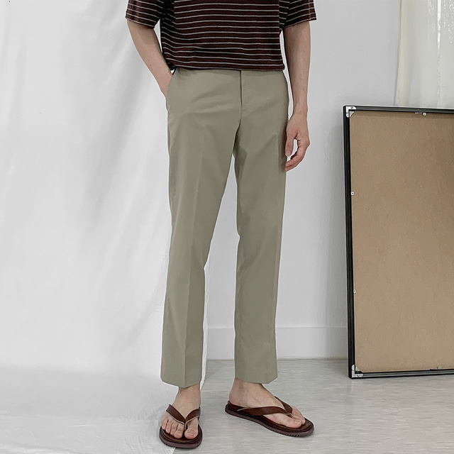 Lake Linen Slacks (4color)