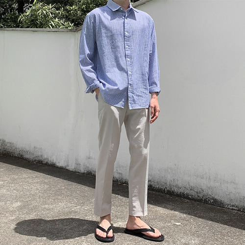 Helia Linen Shirts (5color)