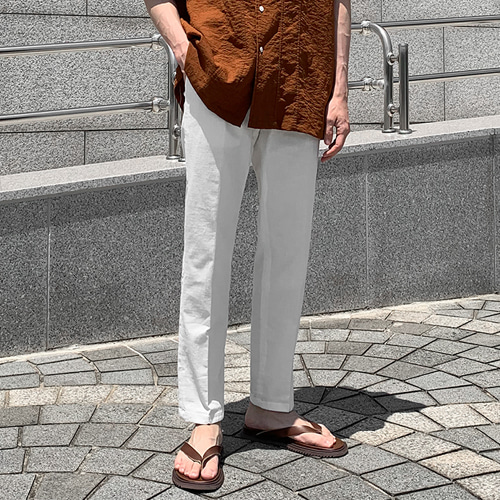 Astin Linen Slacks (5color)
