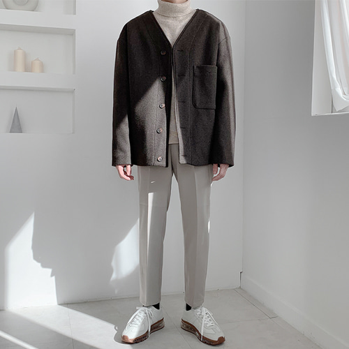 Cocoa Wool Jacket (2color)