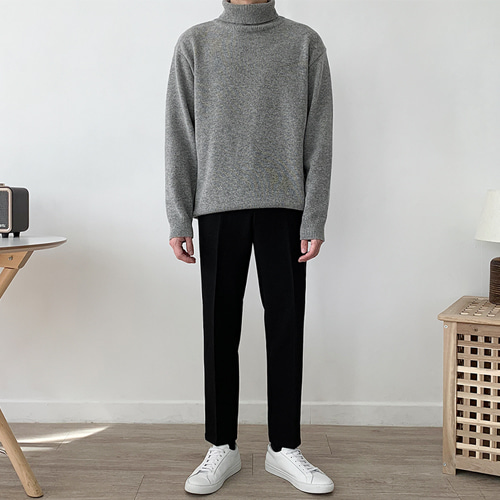 Plant Neck Knit (5color)